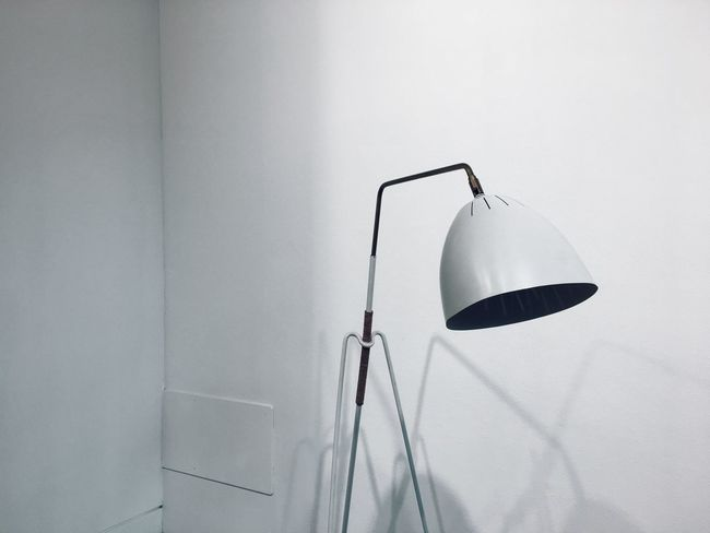 Minimalistic examples of contemporary minimal design. Contemporary Contemporary Design Design Indoors  Interior Decorating Interior Design Interior Style Interiordesign Lamp Lampshade Lampshades Modern No People Shadows Steel White White Background