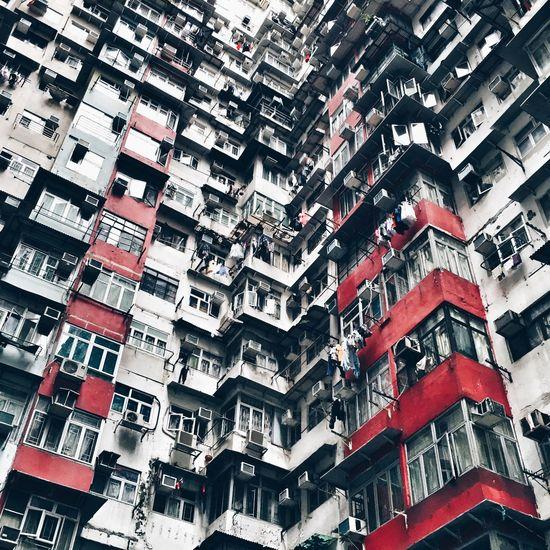 Hong Kong HongKong Discoverhongkong Crowded Residential Structure Residential Building Architecture Architecturelovers 852 Hongkonger Pattern Pieces