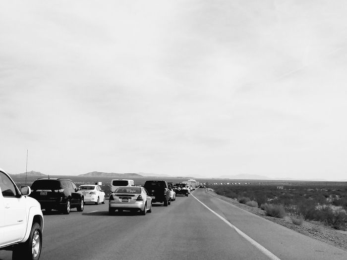 Nothing like the last day of a week long journey and you end up in the desert stuck in traffic... kind of funny! Accident Car Congestion Delayed Land Vehicle Mode Of Transport Nevada Roadtrip Traffic Transportation Wasting Time
