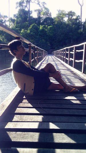 I'm alone Waterfall