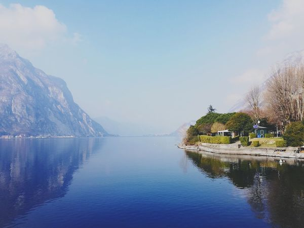 Lost in the blue Day Off Tranquility Outside Tranquil Scene Shadow Italy🇮🇹 Sky Water Blue Blue Sky Blu Wave Blu Water Lake Lake View Lago Di Lecco Lecco Lake Lecco Specular Effect Specular Blue Mountain Panoramic Horizon Over Water Water Outdoors Sky Day Nature No People