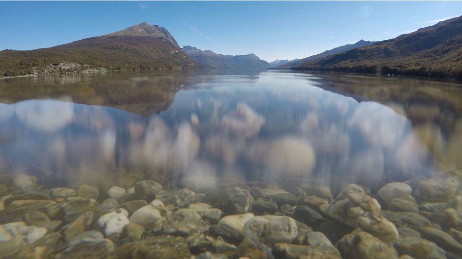 Acigami arriba, Acigami abajo Tierra Del Fuego Fin Del Mundo Ushuaia Argentina Mountain Lake Water Nature No People Beauty In Nature