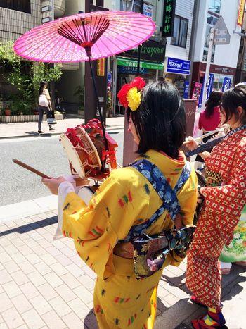 早稲田大学のちんどん研究会のみなさま(^-^) Chindon-ya Students Student Life Waseda Girls Tokyogirls Tokyo Tokyo Days Tadaa Community