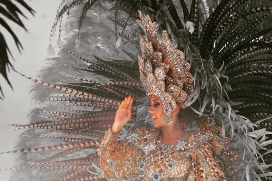 Carnival One Woman Only Beauty Carnaval Panamá Panama City Featheredbeauties