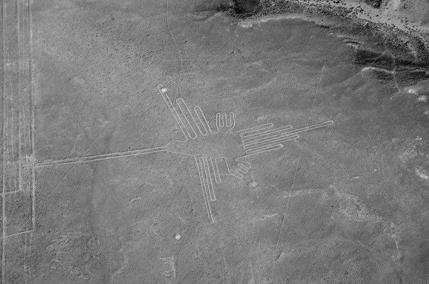 The Hummingbird - Nasca Lines - Peru Lines Nazca Peru Aerial Flight Hummingbird Nasca Nasca Lines