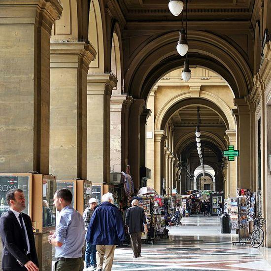 Firenze Italy Perspective Collonaden