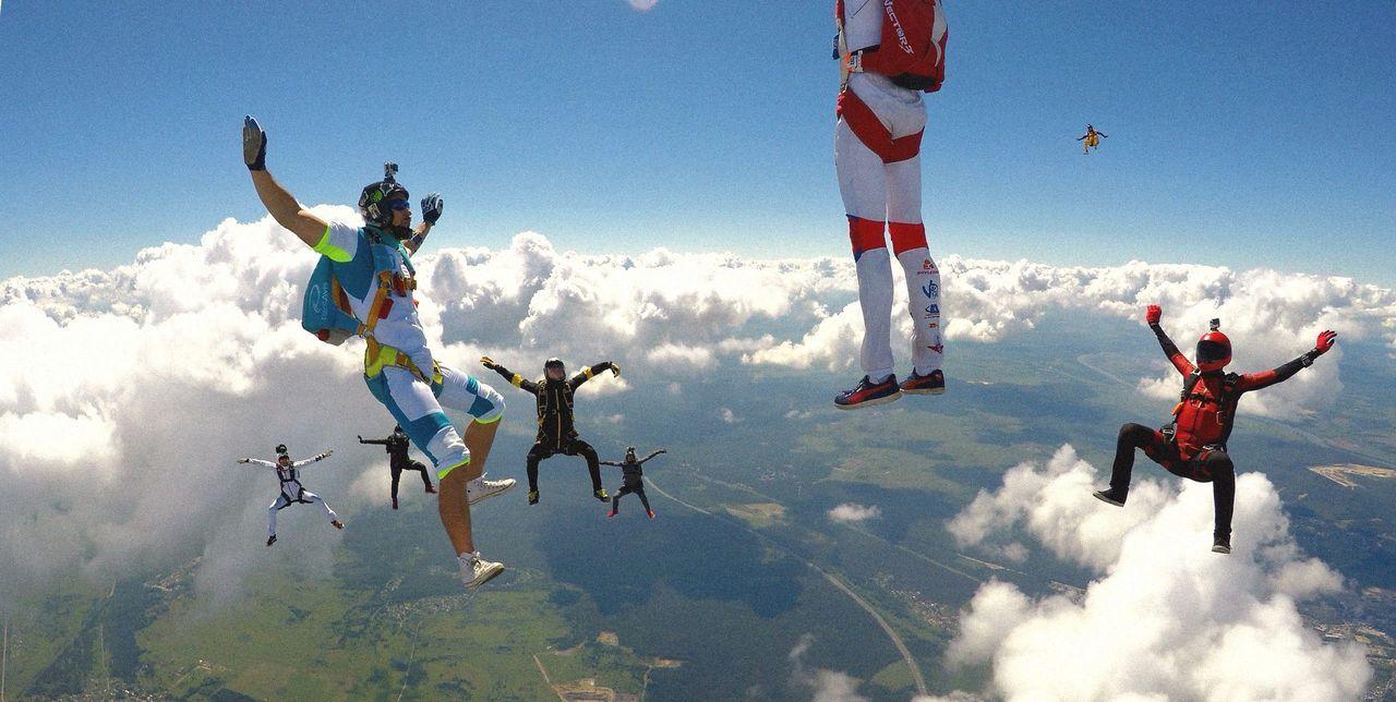 FlyorDie Extreme Sports Freefly Jumping People Sky Skydiver Skydiving Go Higher