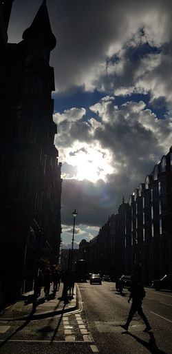 Cloud - Sky Built Structure Building Exterior Sky Architecture Outdoors People Day Illuminated City London