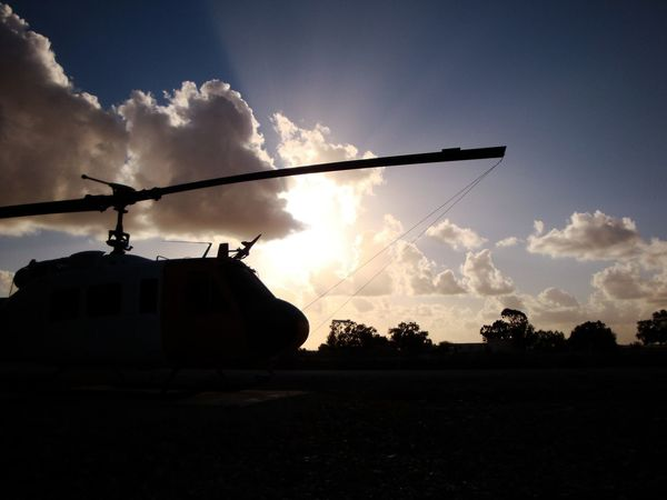 Army Cloud - Sky Day Helicopter Helicopter View  Military No People Outdoors Silhouette Sky Sunset War