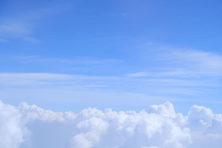 Sky And Clouds Sky Collection Plain View Nature Cloud - Sky Blue Sky Only No People Backgrounds