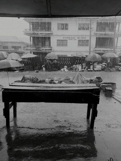 Water City Rain Africa Raining Season Business District