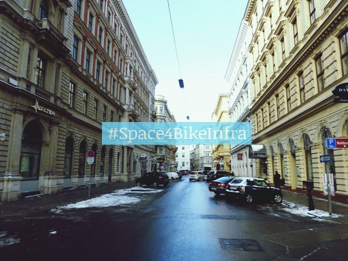 Space4BikeInfra @Johannesgasse Wien Radfahren Cycling Vienna Streets Of Vienna Cityspaces Discover Your City Urbancycling