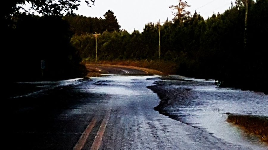Water No People Wet Outdoors Flooded Road Underwater Transportation Rural Scene Rural America Rural Life Flooded Streets Flooded Path FloodedRoads Flooded Landscape NCPhotographer Ncphotography Northcarolinaphotographer Creek Life Creek