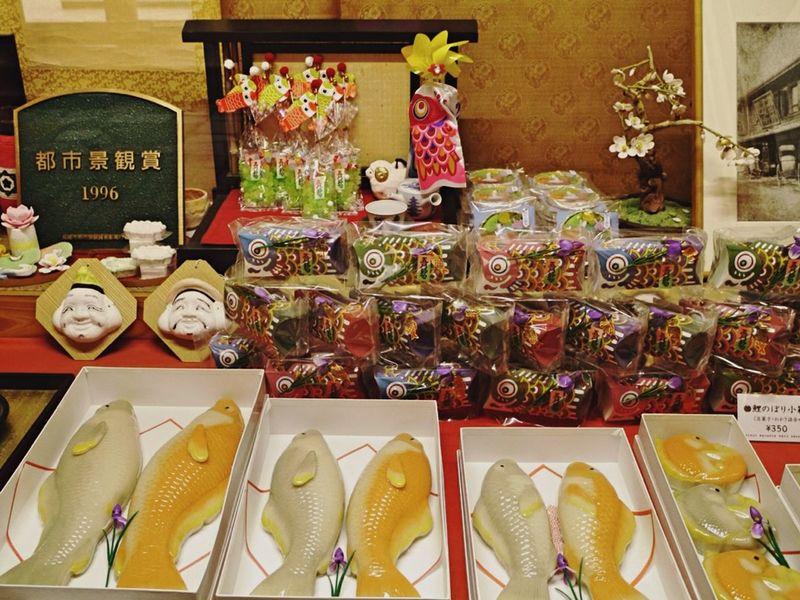 Showwindow Iwanaga Baijyu-Ken : Food Photography Wagashi Japanese Confectionery Discover Your City Nagasaki City / LUMIX G VARIO 35mm F1filter 和華蘭(Nagasaki Culture)