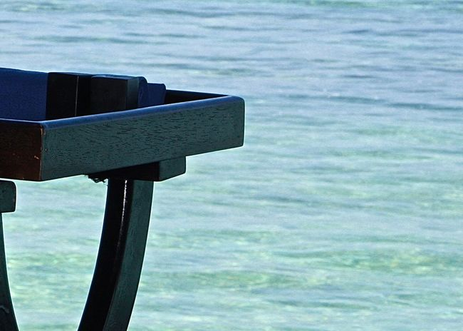 Beach Black Blue Close-up Detail Enjoying Life Focus On Foreground Life Is A Beach Lunch Time! Maldives Minimalism Ocean Outdoors Part Of Relaxing Scenics Sea Simplicity Table Taking Photos Tranquility Travel Turquoise Water Wineandmore Wooden
