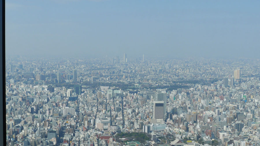 Tokyo from the