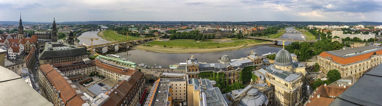 Dresden - frauenkirche aussichtsplattform