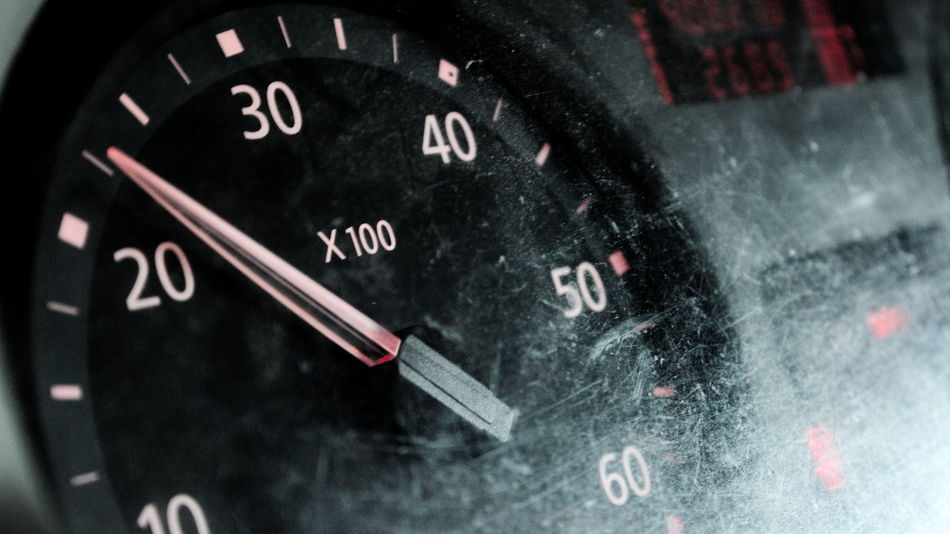 Speedometer Close-up Day Focus On Foreground Information Information Sign Measure No People Number Selective Focus Speed Speedometer Speedometerofficial Text