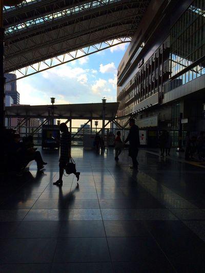 People. Osaka Station OSAKA Light And Shadow Streetphotography street photography (null) Open Edit