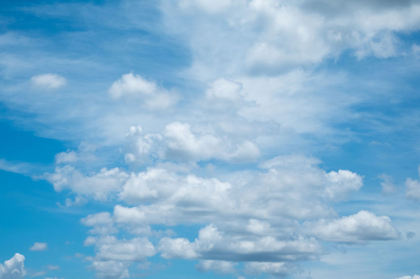 Backgrounds Beauty In Nature Blue Cloud - Sky Cloudscape Day Low Angle View Nature No People Outdoors Scenics Sky Sky Only Tranquil Scene Tranquility