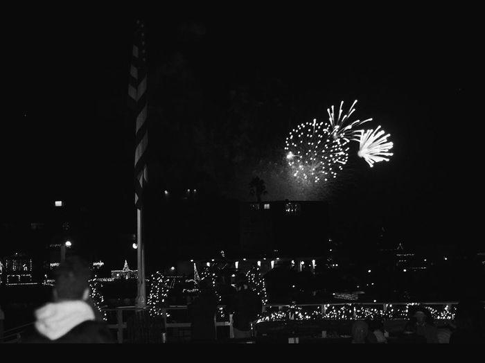 Fireworks at