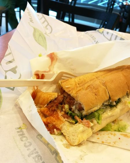 Happy lunch Food Fast Food Subway Lunch Time! Food Ready-to-eat Fast Food TandooriChicken Putrajaya