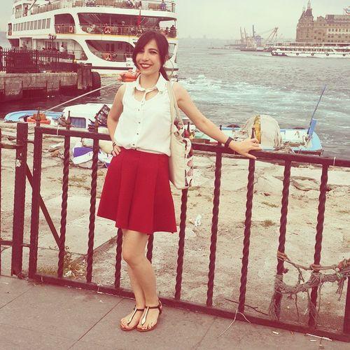 Kırmızıbanayaķışıyor :) eğitim sonrası kadıköy sefası :) Kadikoy Istanbul Turkey