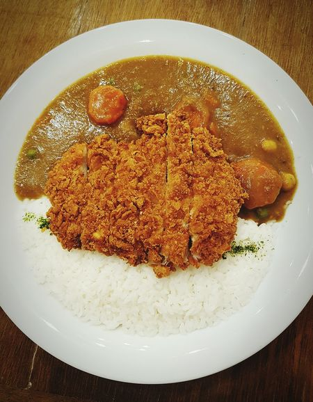 Japanese Pork Katsu Curry!!!😋 Japanese Food Japanese Restaurant Fried Food Pork Katsu Japanese Curry Delicious Japan JapaneseStyle