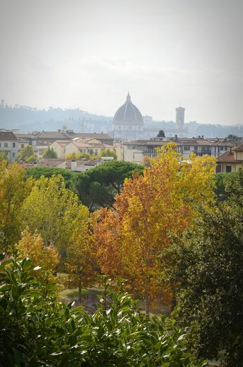 Duomo Santa Maria Del Fiore City Outdoors Architecture Landscape Cityscape Firenze Florence Florence Italy