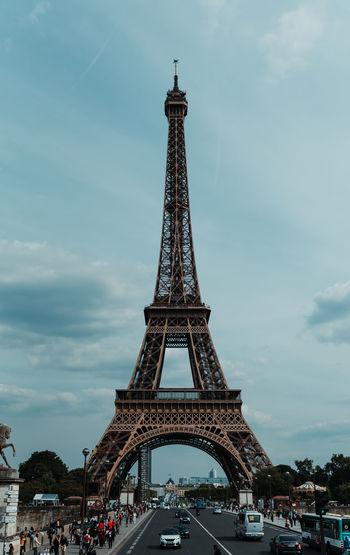 Architecture Tower Sky History Built Structure The Past City Tall - High Travel Destinations Travel Tourism Building Exterior Cloud - Sky Outdoors Eiffel Tower Paris France Paris, France