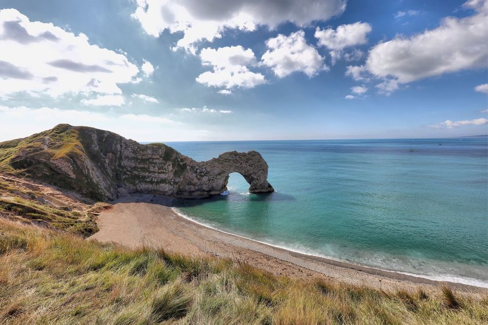 Dorset Sea Water Scenics Tranquil Scene Sky Horizon Over Water Beauty In Nature Tranquility Cloud - Sky Idyllic Nature Tourism Travel Destinations Non-urban Scene Mountain Day Cliff Cloud Outdoors Blue