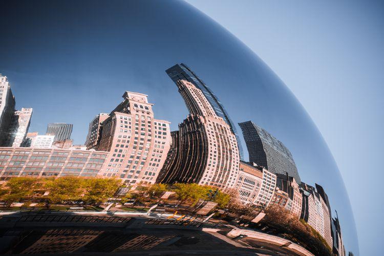 The bean, landmark of chicago