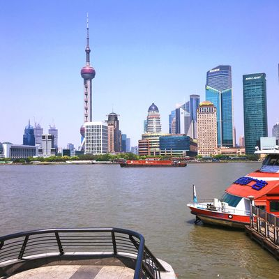 👀 Architecture Built Structure Building Exterior Skyscraper Tall - High Tower City River Water Travel Cityscape Travel Destinations Urban Skyline Clear Sky No People Waterfront Modern Tourism Outdoors Day
