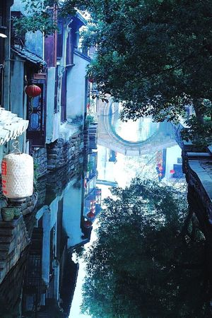 Lonely old town, China Water Reflections Reflection Absence Peace And Quiet Zhouzhuang China Photos Traveling In China
