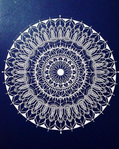 Free Hand YohkoAmaterraArt Drawing Mandala Art Mandalas 曼荼羅 Earth ArtWork Create My Drawing Design Cosmo