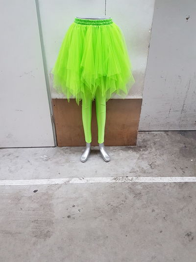 Dummy Clothing Photography Shocking Color Shocking Dance Dress Waiting For Someone Trash Waiting Legs And Feet Legs Dummy Photos Cover Background Dance Photography Mannequin Tutu Tutudress