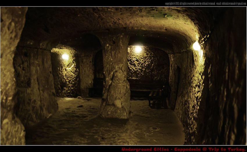 Underground Cities @ Cappadocia, Turkey. EyeEm Best Shots Landscape_Collection Traveling Turkey