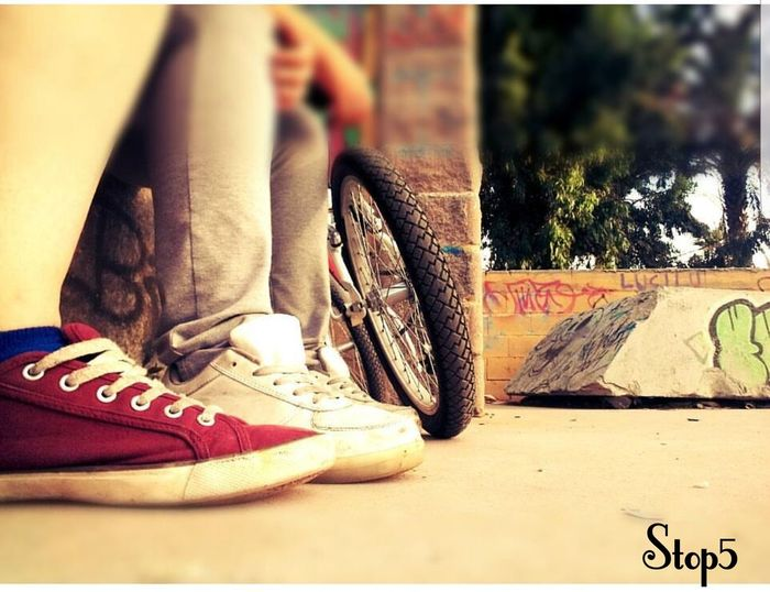 sport #happy #love #time #motion #good #lalinea #gibraltar #bycicle #red #sport #photography Shoe Day Human Leg