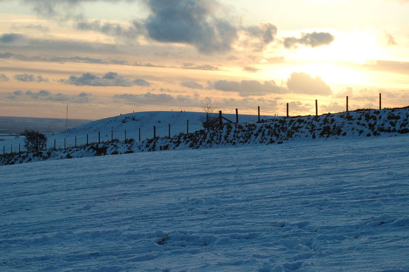 Pembrokeshire Clouds And Sky Out For A Walk Sunshine Sunset Snow Landscape Preseli Mountain