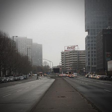 Autobahn Capture Berlin Leipziger Straße Berlin Mitte Coca Cola Sign Coca Cola Kapitalismus Street No People