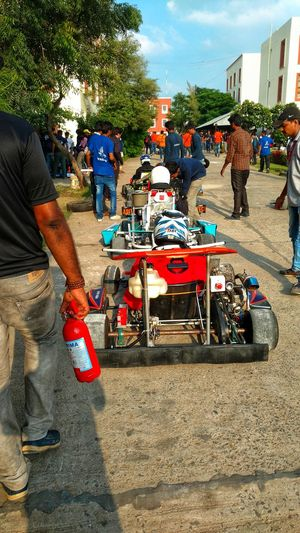 Be. Ready. Getting Ready Gokart Racing Racetrack Ready For Take Off