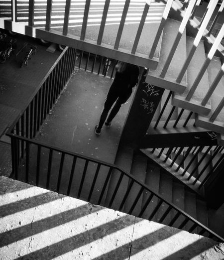 Treppenlauf Blackandwhite Streetphotography Street Photography Streetphoto_bw Shadow Spiral Staircase Stairway Steps Steps And Staircases Staircase