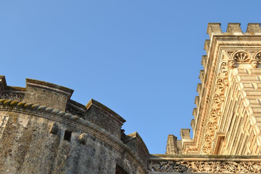 Ancient Architectural Feature Architecture Barocco Architecture Blue Building Exterior Built Structure Capital Cities  City Clear Sky Day Famous Place Fortified Wall History International Landmark Low Angle View No People Outdoors Sun Tall - High The Past Tourism Tower Travel Travel Destinations