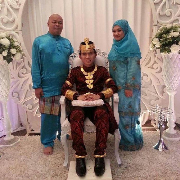 Wedding Malam Berinai Pengantin Lelaki.Anak kepada Pangiran Hj Bakri di Kg Burong Pingai Brunei Brunei Darussalam