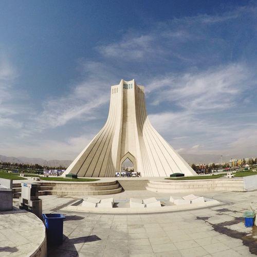 Iran Tehran Azadi Square ArtWork Traveling Walking Around Street Taking Photos Vatan
