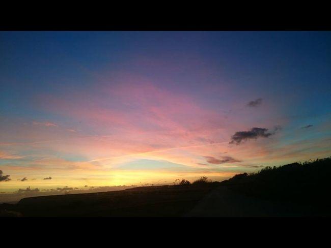 Sunset Jurassic Coast Dorset Purbeck Sky