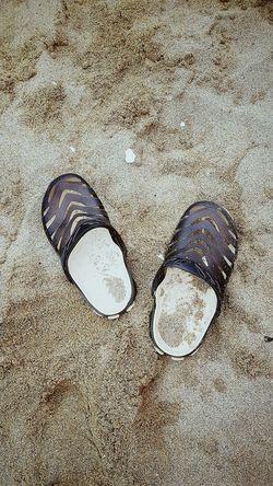 Sand Shoe Beach Full Frame Day Backgrounds Nature Slippers Eyeemstreetphotography EyeemShot EyeEmNewHere EyeEm Eyeem Market Outdoors