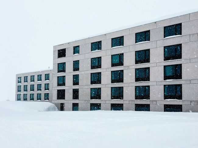Bricks and snow... Arch+ White Collection Snow Winter Cold Temperature Weather Architecture Outdoors No People Building Exterior Built Structure