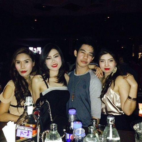 Yeah the night is alive You can feel the heartbeat. ^^ FunkyVilla Thonglor10