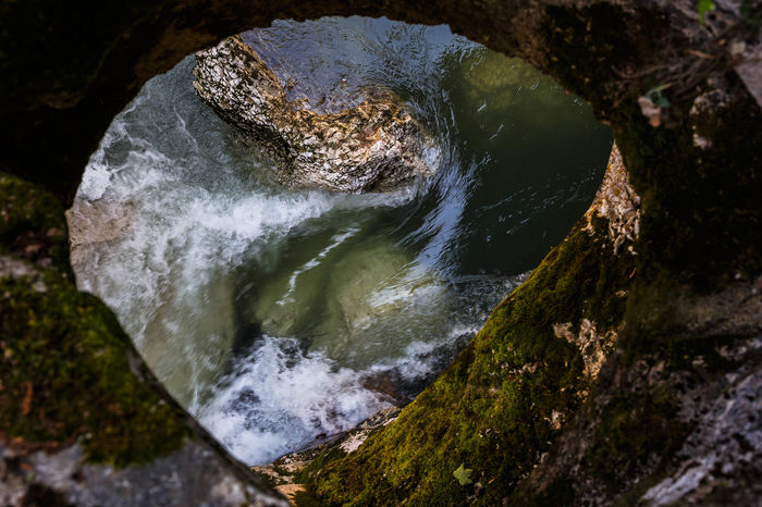 Gorges Du Fier Current Eye Flower Water Window